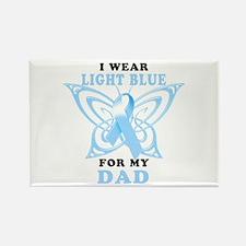 I Wear Light Blue for my Dad Rectangle Magnet