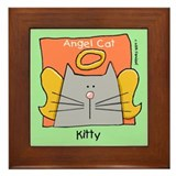 Pet memorial cats Framed Tiles