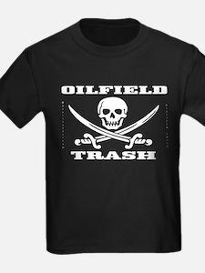 Oil Field Trash,Skull T,Oil,Gas