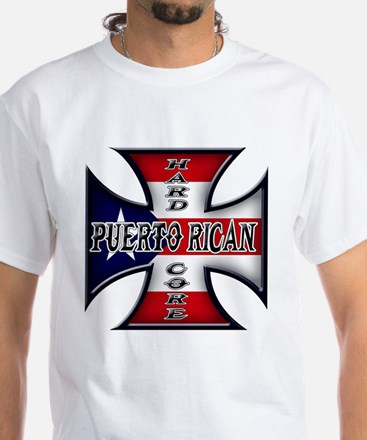 Puerto rican warned you about White T-Shirt