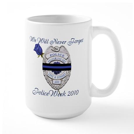 PoliceWeek 2010 Large Mug