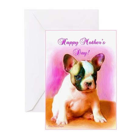 Happy Mother's Day French Bul Greeting Cards (Pk o