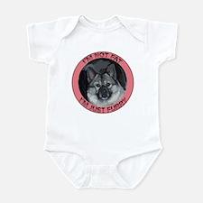 Fat and Furry Norwegian elkho Infant Bodysuit