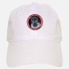 Fat and Furry Norwegian elkho Baseball Baseball Cap