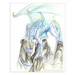 Blue Dragon 16x20 Poster Print