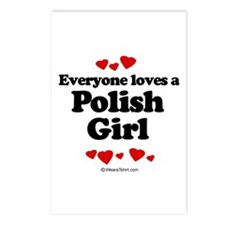 Everyone loves a Polish Girl ~  Postcards (Package