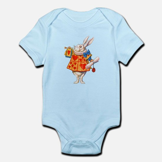 ALICE - THE WHITE RABBIT Infant Bodysuit
