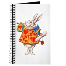 ALICE - THE WHITE RABBIT Journal