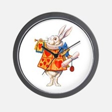 ALICE - THE WHITE RABBIT Wall Clock