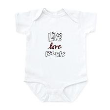 Live Love Rock Infant Bodysuit