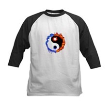 Ying Yang Ice and Fire Tee