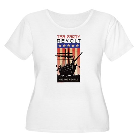 TEA PARTY REVOLT We The Peopl Women's Plus Size Sc