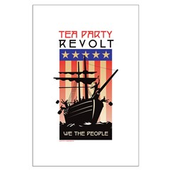 TEA PARTY REVOLT We The Peopl Posters