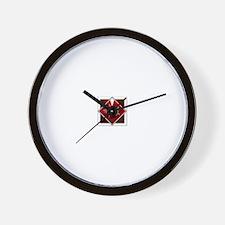Shinra logo Wall Clock