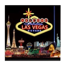 Cute Las vegas Tile Coaster