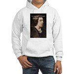 Genius at Play Oscar Wilde Hooded Sweatshirt