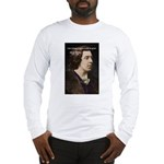 Genius at Play Oscar Wilde Long Sleeve T-Shirt