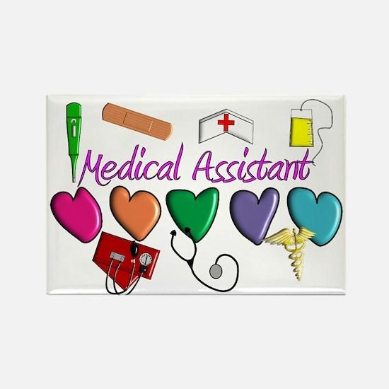 Medical Assistant Rectangle Magnet (10 pack)