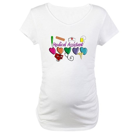 Medical Assistant Maternity T-Shirt