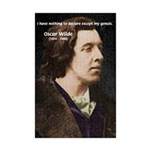 Genius at Play Oscar Wilde Mini Poster Print