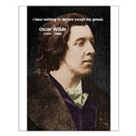 Genius at Play Oscar Wilde Small Poster