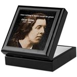 Genius at Play Oscar Wilde Keepsake Box