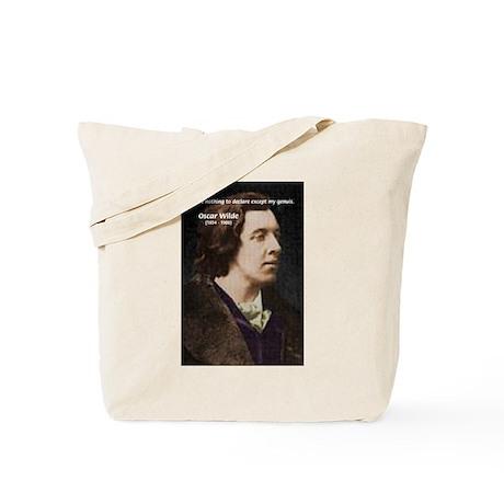 Genius at Play Oscar Wilde Tote Bag