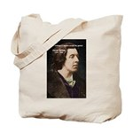 Genius at Play Oscar Wilde Tote Bag