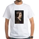 Genius at Play Oscar Wilde White T-Shirt