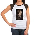 Genius at Play Oscar Wilde Women's Cap Sleeve T-Sh