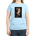 Genius at Play Oscar Wilde Women's Pink T-Shirt