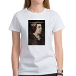 Genius at Play Oscar Wilde Women's T-Shirt