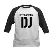 International DJ black Baseball Jersey