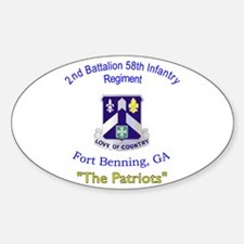 2nd Bn 58th Inf Reg Decal