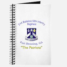 2nd Bn 58th Inf Reg Journal
