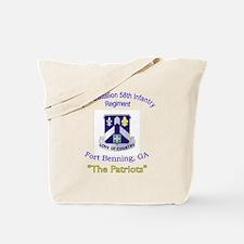 2nd Bn 58th Inf Reg Tote Bag