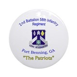 Fort benning Ornaments