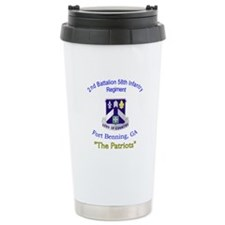 2nd Bn 58th Inf Reg Travel Mug