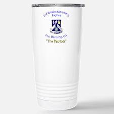 2nd Bn 58th Inf Reg Travel Mug