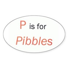 P is for Pibbles Decal