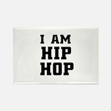 I am hip-hop Rectangle Magnet