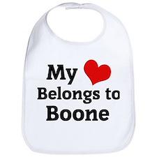 My Heart: Boone Bib