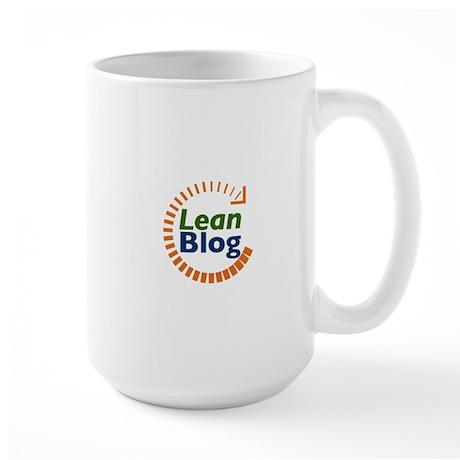 Lean Blog Large Mug
