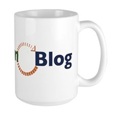 Lean Blog Horizontal Logo Mug