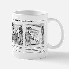 Doofus & Leanie #2 (Blame) Mug