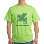 Peglegasus Green T-Shirt