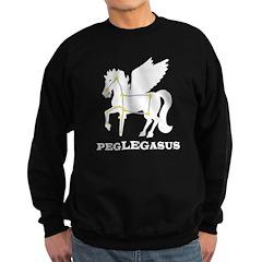 Peglegasus Sweatshirt (dark)