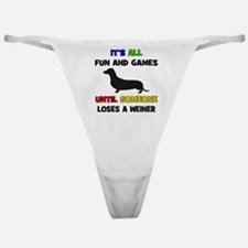 Fun & Games - Weiner Classic Thong