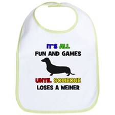 Fun & Games - Weiner Bib