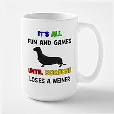 Fun & Games - Weiner Mug